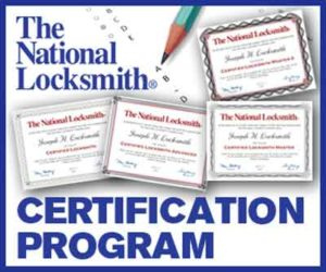 Locksmith Certifications